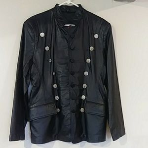 Jackets & Blazers - Virginia Slim Leather Jacket